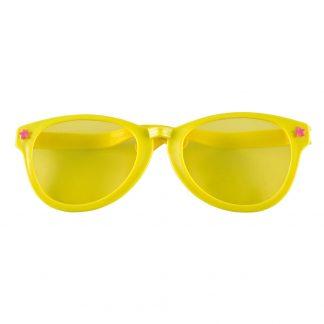 Jumbo party bril geel