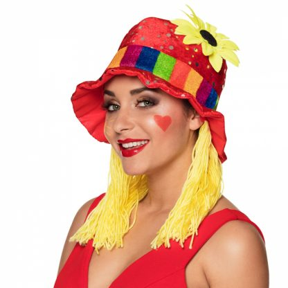 Hoed Clown Clara