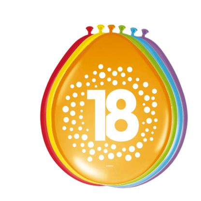 latex ballonnen stippen 18