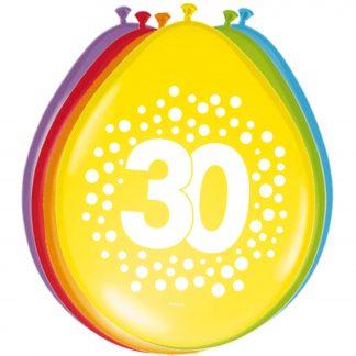 Latex ballonnen stippen 30