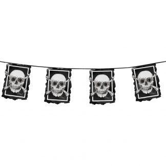 Vlaggenlijn piraten doodskop