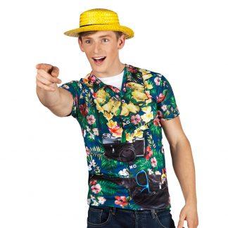 Fotorealistisch shirt toerist