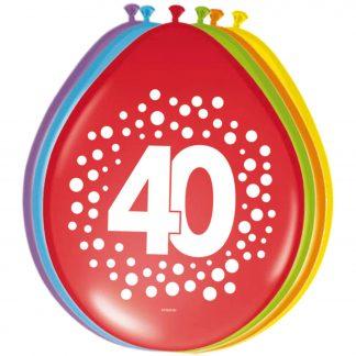 Ballonnen stippen 40 jaar