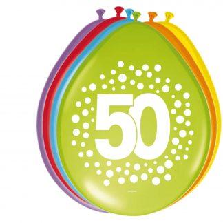 Ballonnen stippen 50 jaar
