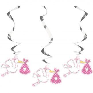 Hangdeco spiraal baby girl