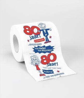 toiletpapier 80 jaar