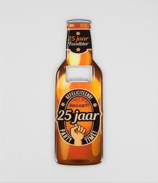 bier opener 25 jaar