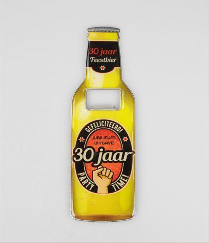 bier opener 30 jaar