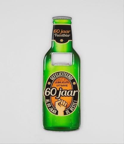 bier opener 60 jaar