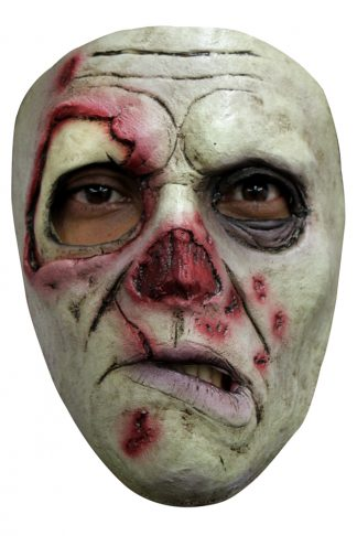 Latex masker gewonde zwerver roamer
