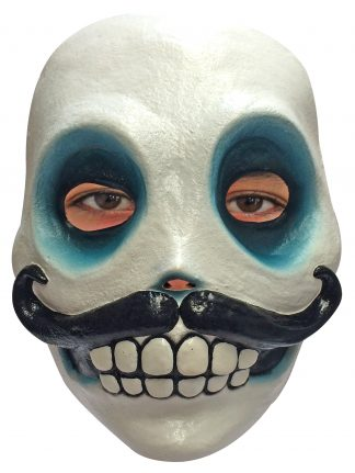 Latex masker Caballero Catrin Day of the dead