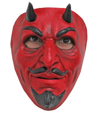 Latex Masker The Devil goatee