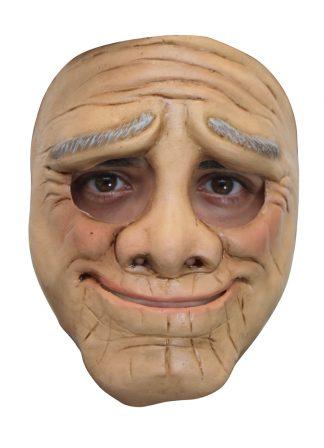 Latex masker Funny old man