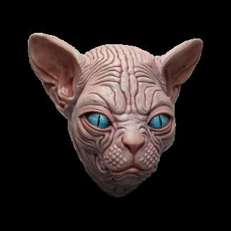 Latex masker sphynx