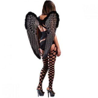 Mega vleugels wings black