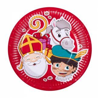 set 6 bordjes Sinterklaas