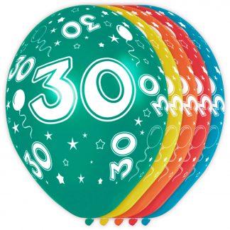 ballonnen 30 helium en lucht