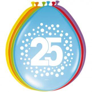 Latex ballonnen stippen 25