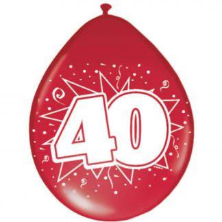 latex ballonnen 40 jaar getrouwd