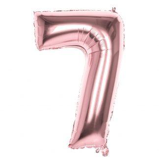 foliecijfer ballon 86 cm 7