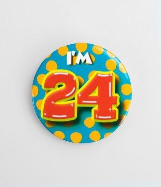 Button 24 jaar