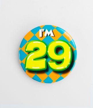 Button 29 jaar