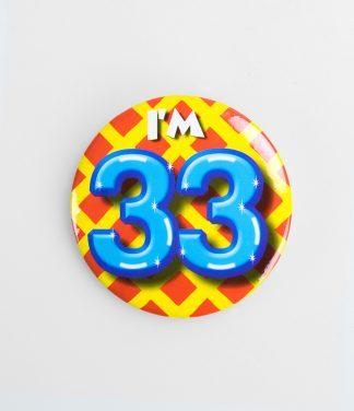 Button 33 jaar