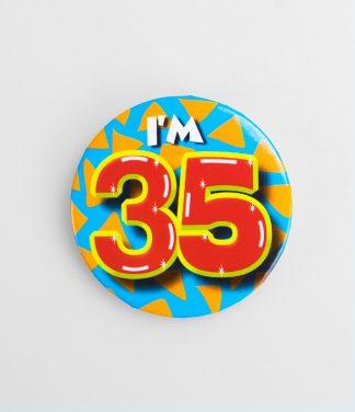 Button 35 jaar