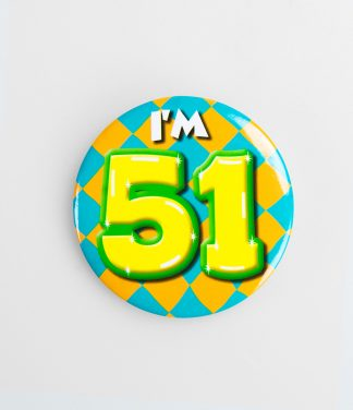Button 51 jaar