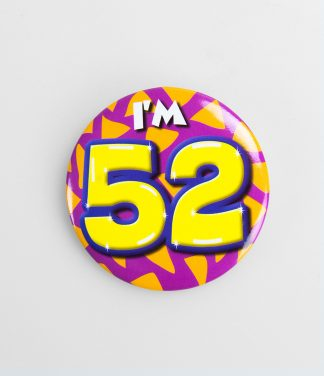 Button 52 jaar