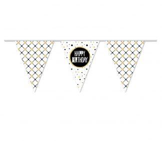 Vlaggenlijn Happy Birthday festive