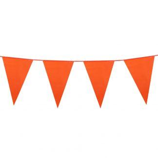 slinger vlaggetjes oranje
