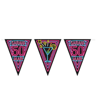 Party flags 50 jaar