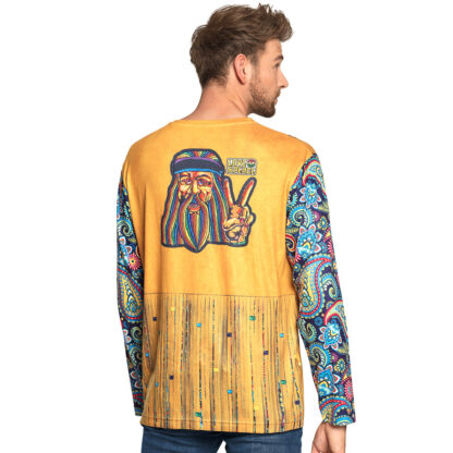 jaren 60 hippie t-shirt